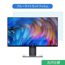 【マラソンP5倍】Dell U2419H 23.8インチ 対応 ブルーライトカット フィルム 液晶保護フィルム 光沢仕様