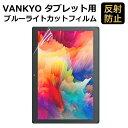 【マラソンP5倍】VANKYO タブレット 10インチ S30 対応 フィルム ブルーライトカット フィルム 液晶保護フィルム 超反…
