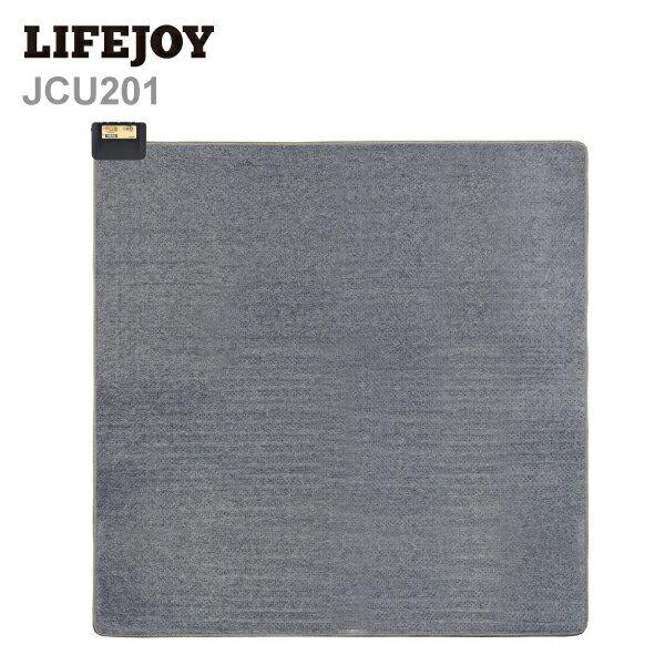 【送料無料】 ホットカーペット 2畳 サイズ 本体 176×176cm 日本製 正方形 ダニ退治 8時間自動オフ 暖房面切換機能 省エネ グレー JCU201 LIFEJOY