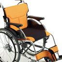 【送料無料】【ポイント2倍】MIKI アールエックスシリーズ RX-1 自走型 車椅子 【メーカー直送】介助用ブレーキ 背折…