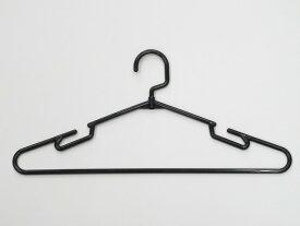 【丸棒タイプハンガー5P BK】フック回転/特価/シャツ/ブラウス/安い/シャツ用ハンガー/ブラウス用ハンガー/回転式フック