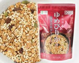 ゆめぴりかの発芽玄米グラノーラ 230g*3袋