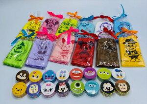 【送料無料】Disney ディズニー ミニタオル ハンカチ12枚セット + マスキングテープ16個セット ミッキー ミニー ドナルド プーさん チップ トイストーリー かわいい おしゃれ ギフ