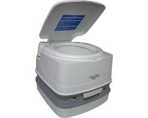 水洗式ポータブルトイレ ポルタポッティキューブピストンポンプ PPQ345【カーメイト】