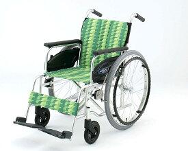 車椅子 軽量 アルミ自走式車椅子 NA-406AS 日進医療器(車椅子 車いす 車イス)