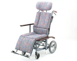 リクライニング 車椅子 フルリクライニング車椅子 NHR-11 日進医療器(車椅子 車いす 車イス)