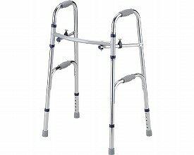 セーフティーアーム 固定式 ハイタイプ / SAHR シルバー  イーストアイ 固定型歩行器(介護用品 歩行器 介護 高齢者 歩行器 シルバー)