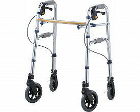 セーフティーアームVタイプウォーカー / SAV  イーストアイ 四輪歩行器(介護用品 歩行器 介護 高齢者 歩行器 シルバー)