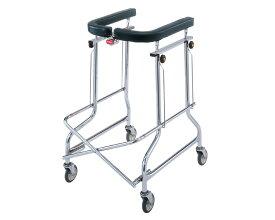 折りたたみ歩行器 アルコー1型 100001 星光医療器 四輪歩行器(介護用品 歩行器 介護 高齢者 歩行器 シルバー 歩行 器 大人 歩行補助)