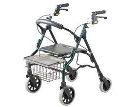 セーフティアーム ロレータII ハイタイプ イーストアイ 歩行器(介護用品 歩行器 介護 高齢者 歩行器 シルバー)