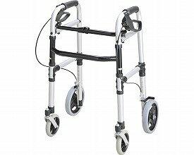 四輪歩行器 安心ウォーカー ホームタイプ / T-5800 シルバー テツコーポレーション(介護用品 歩行器 介護 高齢者 歩行器 シルバー)