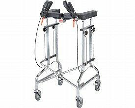 歩行器 / アルコー1S-X型  星光医療器製作所 四輪歩行器(介護用品 歩行器 介護 高齢者 歩行器 シルバー)