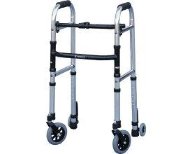 歩行器 介護用 ミニフレームウォーカー・キャスターモデル M / WFM-4262SW5GW3 シンエンス 四輪歩行器(介護用品 歩行器 介護 高齢者 歩行器)