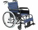 車椅子 自走・介助兼用 アルミ製車いす アミー22 エアータイヤ仕様 / MW-22AII 美和商事(車椅子 車いす 車イス)