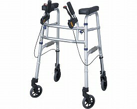 四輪歩行器 セーフティーアーム UXタイプウォーカー / SAUX イーストアイ(介護用品 歩行器 介護 高齢者 歩行器 シルバー)