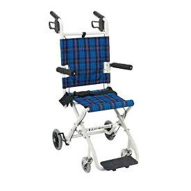 車椅子 軽量 折り畳み コンパクト車いす のっぴープラス NP-001NC マキライフテック 車椅子 車いす 車イス 送料無料