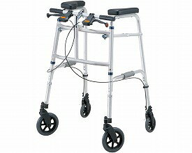 歩行器 介護用 セーフティーアームUタイプウォーカー SAUJ イーストアイ(介護用品 歩行器 介護 高齢者 歩行器 シルバー 四輪歩行器)