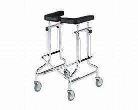 歩行器 介護 折りたたみ歩行器 アルコー1S型 四輪歩行器(介護用品 歩行器 介護 高齢者 歩行器 シルバー 歩行 器 大人 歩行補助)