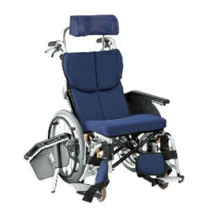 車椅子 ティルト&リクライニング自走用車いすオアシス OS-11TRSP 連動式コンパクト車いす前折れジョイントタイプ(自走型)松永製作所(車椅子 車いす 車イス)