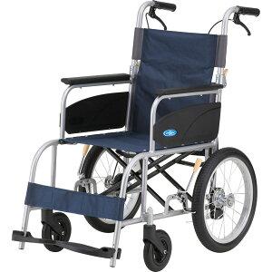 車椅子 軽量 アルミ介助車いす NEO-2α(ネオ2アルファ)NEO-2a 日進医療器(介助用 介助式 車椅子 車いす 車イス)
