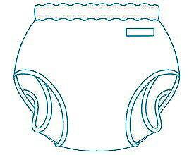 大人用おむつカバー パンツ型おむつカバー Mサイズ(18-11002)モナーテメディカル 介護 オムツカバー