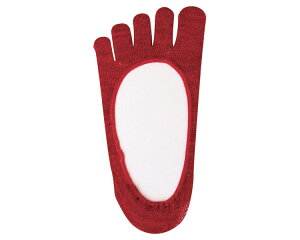 あかたび 健康5本指靴下 夏用(フットカバータイプ) Mサイズ/☆☆PO10