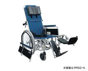 車椅子 軽量 アルミ製フルリクライニング自走用車椅子 RR52-NB カワムラサイクル (車椅子 車いす 車イス 折りたたみ)