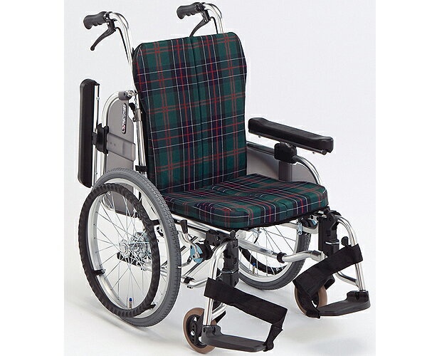 車椅子 軽量 折り畳み 自走用 アルミ製コンパクトセミモジュール車いす AR-911S 松永製作所(車椅子 車いす 車イス)