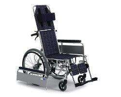 リクライニング車椅子MUL-47D(自走式)【ミキ】