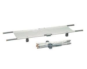 受注生産 四つ折り担架 取付伸縮型 アルミ/OT-14 【ナビス】 【smtb-KD】
