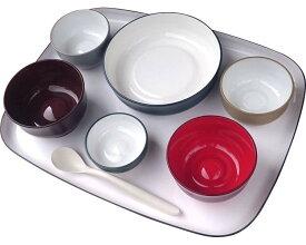 【送料無料】五感で楽しむ自立支援食器IROHA / iroha01 フルセット【大成樹脂工業☆☆】