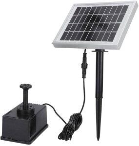 ソーラー池ポンプ 噴水 太陽光 屋外 エアーポンプ 水槽 LP-SP002