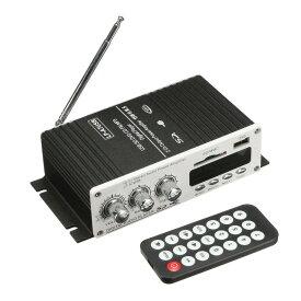 LEPY製 コンパクトオーディオアンプ USB/SDカード再生可 リモコン付 出力20W+20W Hi-Fiステレオアンプ PSE認証 12V 5Aアダプター付属 LP-LP-A7USB