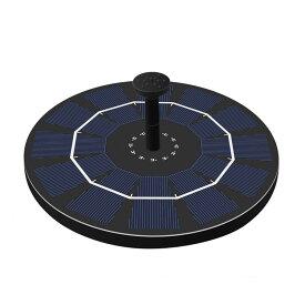 充電式ソーラー噴水ポンプ 太陽光充電 屋外 光センサー フロート ウォーターポンプ 酸素供給 循環 LP-BSVSP25 送料無料
