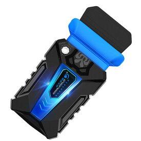 ノートパソコン用冷却ファン ミニ吸引式 ノートPCに CPUクーラー USB給電 クーラーファン 排気口取付 サイズアダプタ3個付き 低騒音 LP-ID3FANMINI 送料無料 キャッシュレス 還元