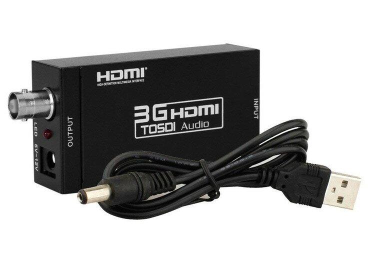 1080P対応 HDMI → 3G-SDI HD-SDI SD-SDIコンバーター LP-HDMI2SDI
