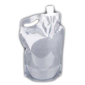 2L ソフトボトル 2リットル 軽量 折り畳み式 コンパクト 給水 キャンプ 防災 登山 アウトドア 熱中症対策 夏遊び備品 重複利用可 水袋 LP-WATP2L 送料無料
