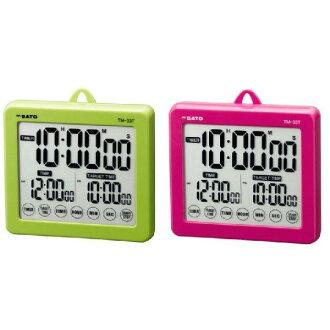 佐藤佐藤称重仪器目标计时器 TM-排水量 33T (P) 粉红色 1802年-00