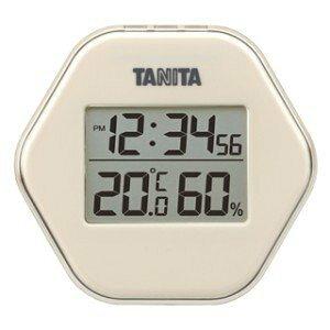 タニタ デジタル温湿度計 (ホワイト) TT-573 (-5〜50℃)