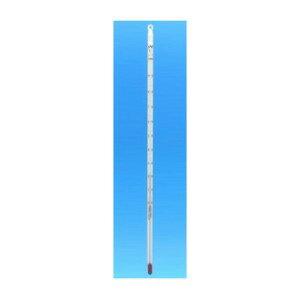 安藤計器 赤液棒状温度計 (全長300mm) 1-23-6 (−20〜105℃)