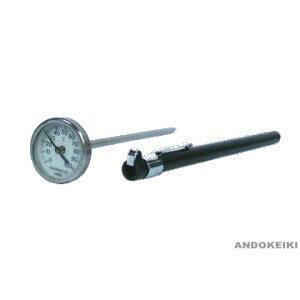 安藤計器 携帯用温度計 (ポケットバイメタル) PB-35 (-30〜50℃)