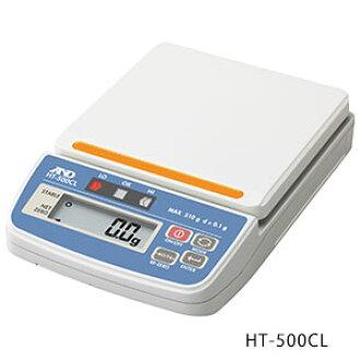 從屬于A&D比長儀右外場手的數碼的秤HT-500CL(hyo量:510g)