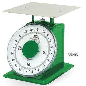 大和製衡 大型上皿はかり SD-20 (秤量:20kg)