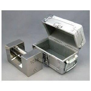 村上衡器 ステンレス製 まくら型分銅(ケース入り) F2級 + JCSS質量校正ランク4 1kg