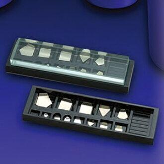타이쇼 천칭(요시미츠 전자) 기준 분동형 판 모양 분동(양은) M2급(3급) 500 mg~10 mg M2PGB
