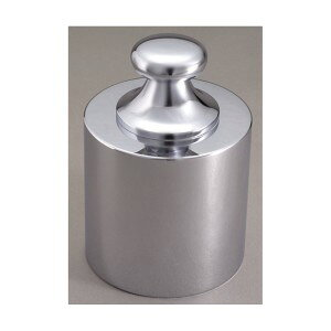 大正天びん(新光電子) JISマーク付 基準分銅型円筒分銅 (黄銅クロムメッキ) F2級(1級) 20kg F2CBB-20KJ