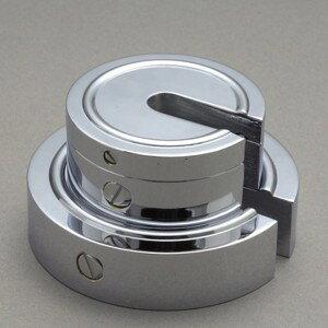 大正天びん(新光電子) 増おもり型分銅 (黄銅クロムメッキ) F2級(1級) 1kg F2SB-1K