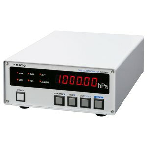 SATO 佐藤計量器 デジタル気圧計 (一財)気象業務支援センター検定付 SK-500B 7630-10