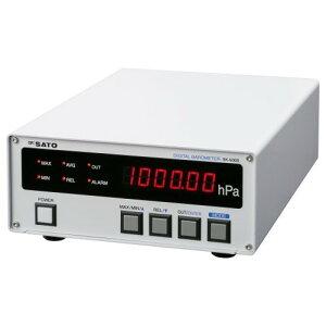 SATO 佐藤計量器 デジタル気圧計 SK-500B 7630-00 (JCSS校正付)