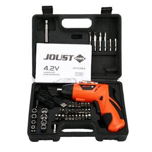 電動ドライバーセット 4.2V USB充電式 多機能 可変式 コードレス DIY 日曜大工 常備品 LST-USBDS45